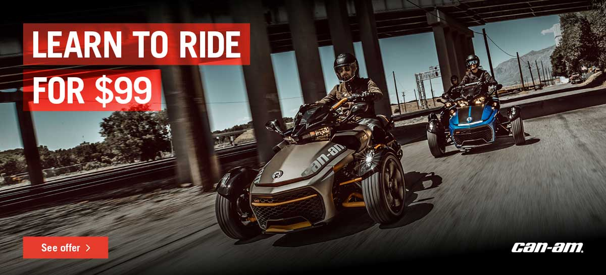can am spyder rider course