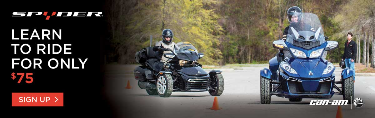 canam spyder rider course